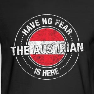 Have No Fear The Austrian Is Here - Men's Long Sleeve T-Shirt