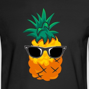Pineapple Wearing Sunglasses - Men's Long Sleeve T-Shirt