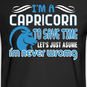 I'm A Capricorn Shirt - Men's Long Sleeve T-Shirt