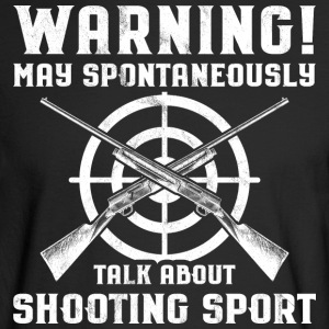Shooting Sports/Shooter/Firing Range/Guns/Rifles - Men's Long Sleeve T-Shirt