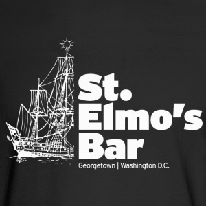 St. Elmos Bar - Men's Long Sleeve T-Shirt