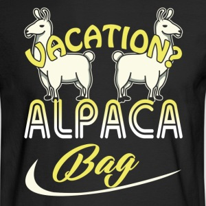 Alpaca Tee Shirt - Men's Long Sleeve T-Shirt