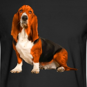 Basset Hound Shirt - Men's Long Sleeve T-Shirt