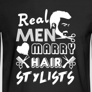 Hair Stylist Tee Shirt - Men's Long Sleeve T-Shirt