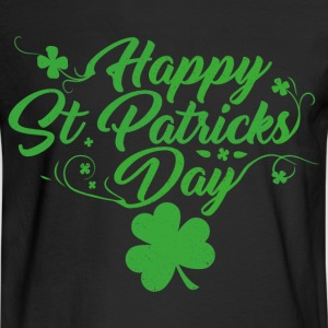 Happy St. Patricks Day - Men's Long Sleeve T-Shirt