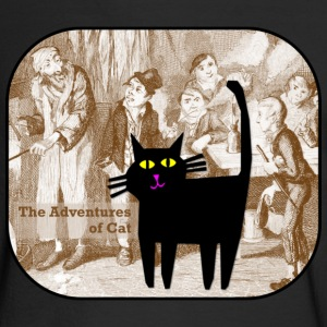 Cat Lives Oliver Twist - Men's Long Sleeve T-Shirt