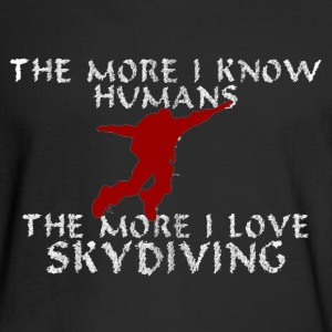 I Love Skydiving. - Men's Long Sleeve T-Shirt