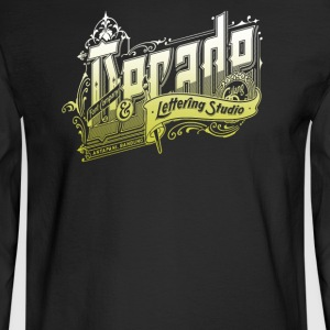 Decade Lettering - Men's Long Sleeve T-Shirt