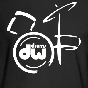 DW Drum Music Instrument - Men's Long Sleeve T-Shirt