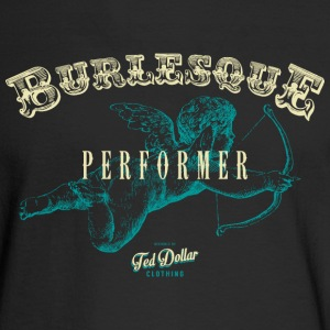 Burlesque Performer blue - Men's Long Sleeve T-Shirt