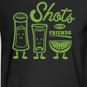 Shots With Friends - Men's Long Sleeve T-Shirt