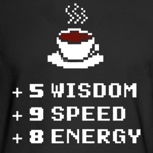 Dungeons And Dragons Coffee - Men's Long Sleeve T-Shirt