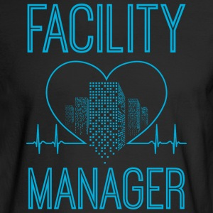 Facility Manager/Facilities Manager/Gift/Present - Men's Long Sleeve T-Shirt
