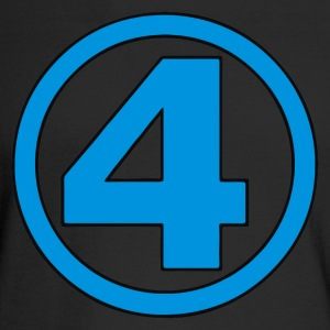 number 4 - Men's Long Sleeve T-Shirt