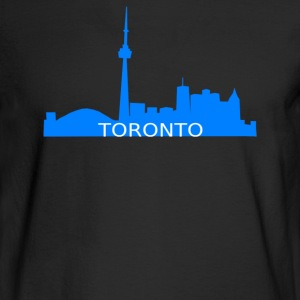 Toronto Skyline - Men's Long Sleeve T-Shirt