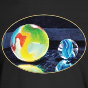 Marble Light - Men's Long Sleeve T-Shirt