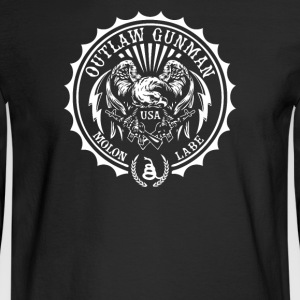 Outlaw Gunman - Men's Long Sleeve T-Shirt