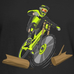 Lumberjack Bike - Men's Long Sleeve T-Shirt