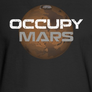 occupy mars - Men's Long Sleeve T-Shirt