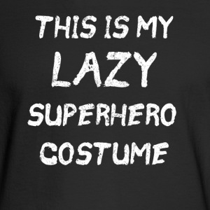 this is my lazy superhero costume - Men's Long Sleeve T-Shirt