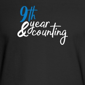 9th anniversary - Men's Long Sleeve T-Shirt