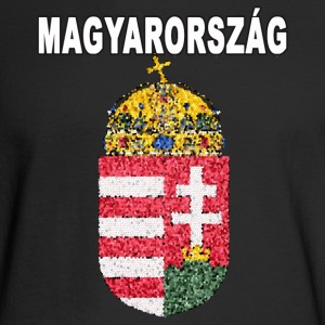 Hungarian National Crest Magyarorszag Pride - Men's Long Sleeve T-Shirt