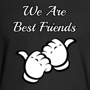 we are best friends - Men's Long Sleeve T-Shirt