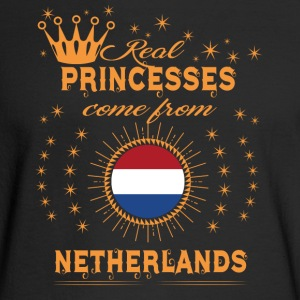love princesses come from NETHERLANDS - Men's Long Sleeve T-Shirt