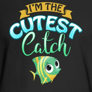 Cutest Catch Fisherman Fishing Wife Present Gift - Men's Long Sleeve T-Shirt