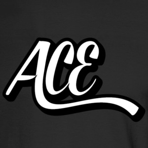 Ace Sig Fixed - Men's Long Sleeve T-Shirt