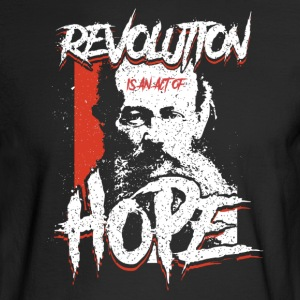 Kropotkin - Revolution Is Hope - Men's Long Sleeve T-Shirt