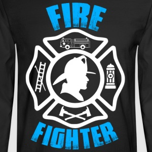 Fire Fighter - Men's Long Sleeve T-Shirt