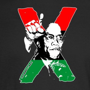 Black Lives Matter - Malcolm X Icon - Men's Long Sleeve T-Shirt