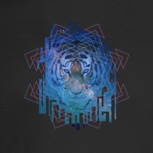 Space Tiger - Men's Long Sleeve T-Shirt