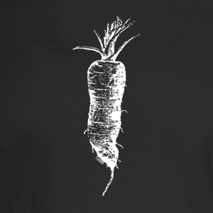 The Carrot - Reverse Image - Men's Long Sleeve T-Shirt