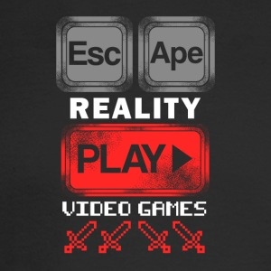 EscApe Reality Play Video Games - Men's Long Sleeve T-Shirt