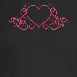 Heart Drop Elegance - Men's Long Sleeve T-Shirt