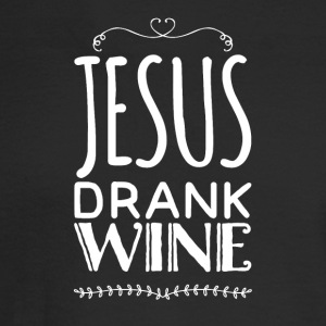 Jesus drank wine - Men's Long Sleeve T-Shirt