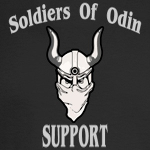 Soldiers Of Odin Worldwide Support - Men's Long Sleeve T-Shirt