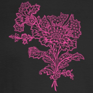 Pink flower - Men's Long Sleeve T-Shirt