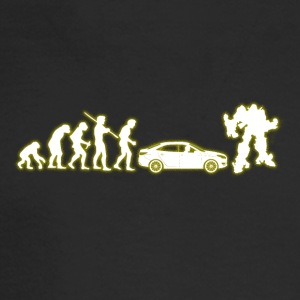 Human Evolution Transformer - Men's Long Sleeve T-Shirt