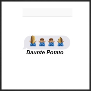 Daunte Potato - Men's Long Sleeve T-Shirt