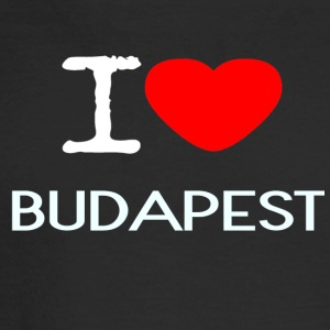 I LOVE BUDAPEST - Men's Long Sleeve T-Shirt