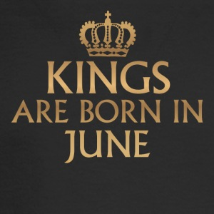 Kings are born in June - Men's Long Sleeve T-Shirt