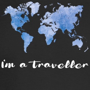 I'm a traveller - Men's Long Sleeve T-Shirt