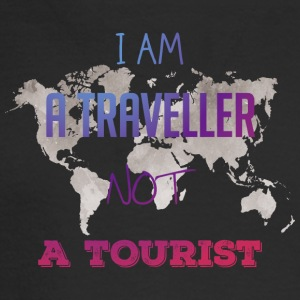 I am a traveller not a tourist - Men's Long Sleeve T-Shirt