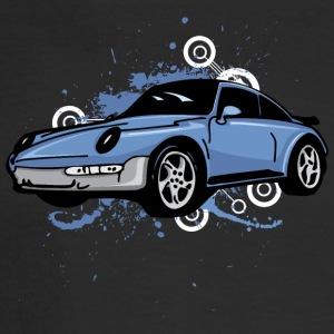 Blue_porsche_911_sportcar - Men's Long Sleeve T-Shirt