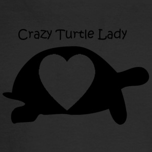 Crazy Turtle Lady - Men's Long Sleeve T-Shirt