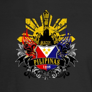 PILIPINAS 1898. Philippines Year of Independence - Men's Long Sleeve T-Shirt
