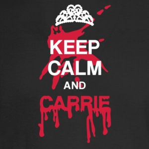 Keep calm and Carrie - Men's Long Sleeve T-Shirt
